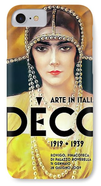 IPhone Case featuring the digital art Arte In Italia by Chuck Staley