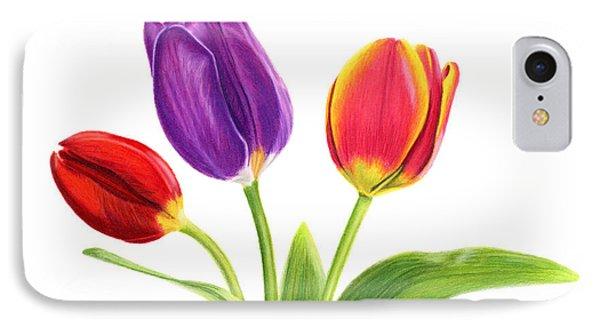 Tulip Trio IPhone Case