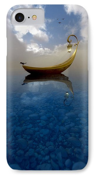Boat iPhone 8 Case - Narcissism by Cynthia Decker