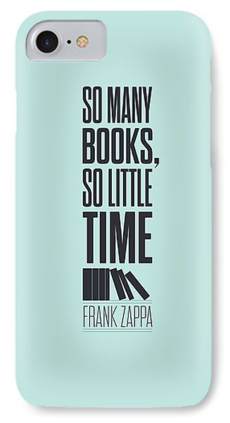 Frank Zappa Quote Typography Print Quotes Poster IPhone Case