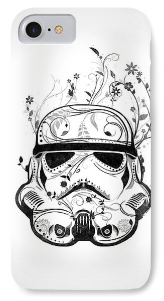 Flower Trooper IPhone Case