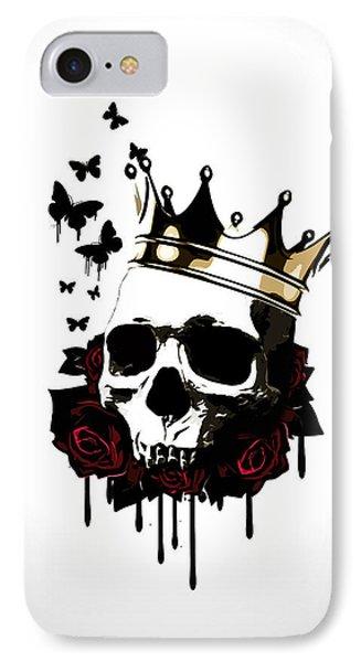 El Rey De La Muerte IPhone Case