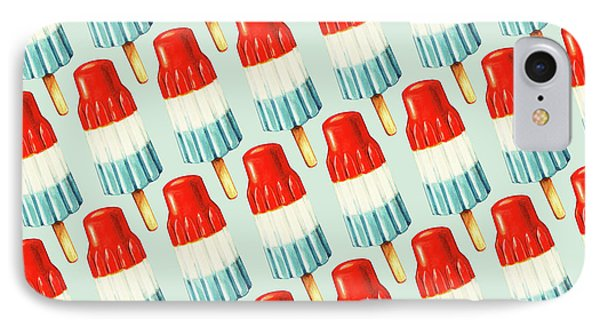 Fruit iPhone 8 Case - Bomb Pop Pattern by Kelly Gilleran