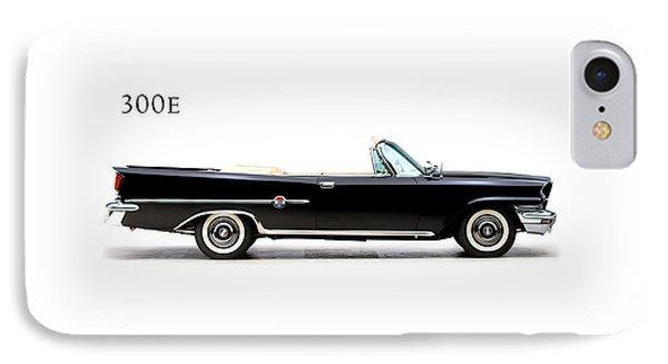 Transportation iPhone 8 Case - Chrysler 300e 1959 by Mark Rogan