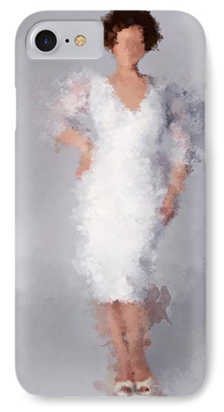 IPhone Case featuring the digital art Tiffany by Nancy Levan