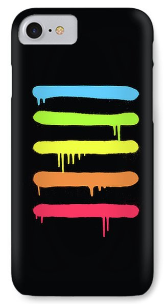 Trendy Cool Graffiti Tag Lines IPhone Case