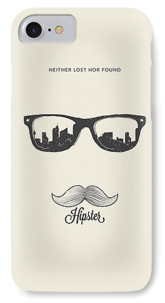 Hipster Neither Lost Nor Found IPhone Case