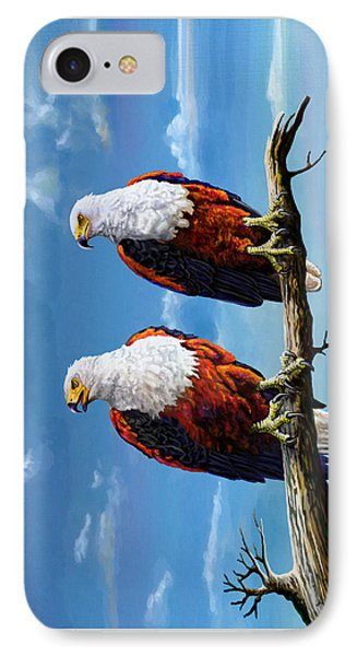 Friends Hanging Out IPhone Case