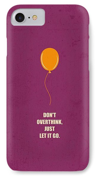Don't Overthink Business Quotes Poster IPhone Case