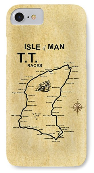 Isle Of Man Tt IPhone Case