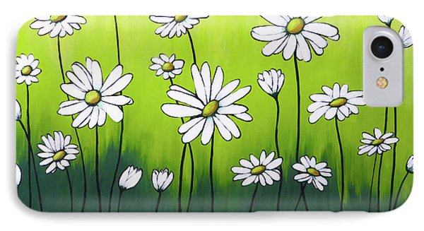 Daisy Crazy IPhone Case