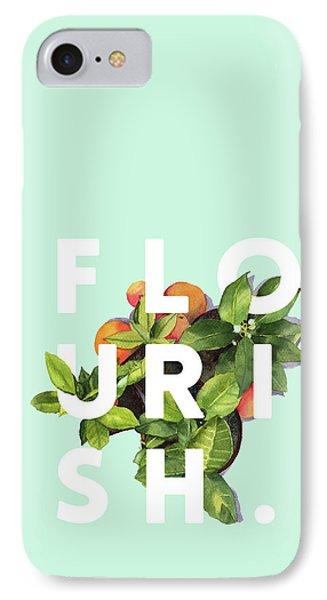 Flowers iPhone 8 Case - Flourish by Uma Gokhale