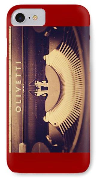 Olivetti Typewriter IPhone Case