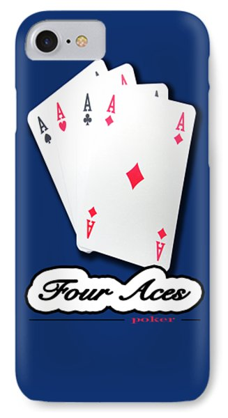 Poker Of Aces - Four Aces IPhone Case