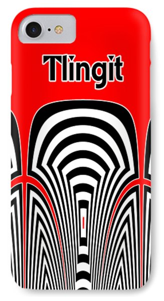Tribute iPhone 8 Case - Tlingit Tribute by Methune Hively