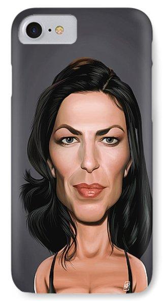 Celebrity Sunday - Claudia Black IPhone Case