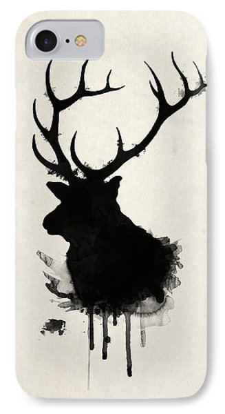 Nature iPhone 8 Case - Elk by Nicklas Gustafsson