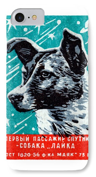 1957 Laika The Space Dog IPhone Case