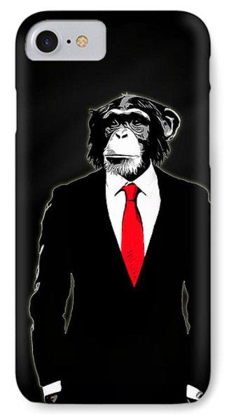 Domesticated Monkey IPhone Case
