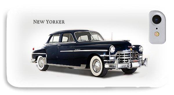 Car iPhone 8 Case - Chrysler New Yorker 1949 by Mark Rogan