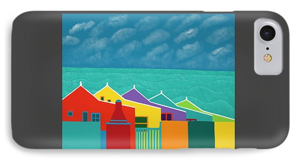 iPhone 8 Case - Aruba Fantasy  by Synthia SAINT JAMES