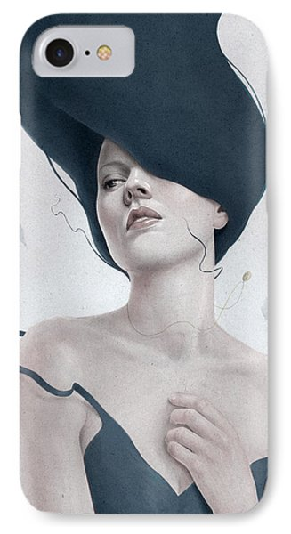 Portraits iPhone 8 Case - Ascension by Diego Fernandez