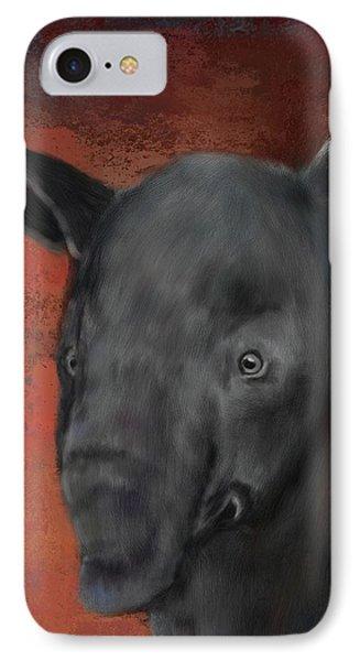 Asian Tapir IPhone Case