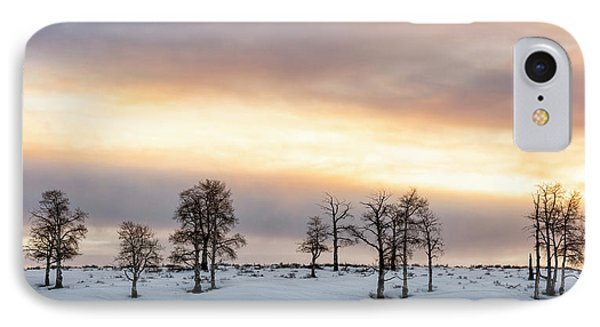 Aspen Hill At Sunset IPhone Case