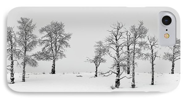 Aspen Tree Line-up IPhone Case