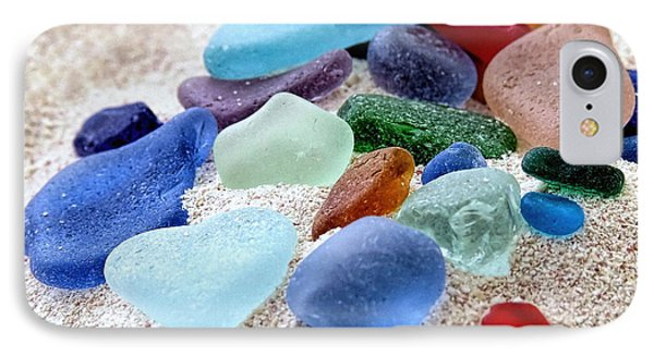 Assorted Beach Gems IPhone Case