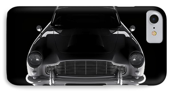 Aston Martin Db5 - Front View IPhone Case