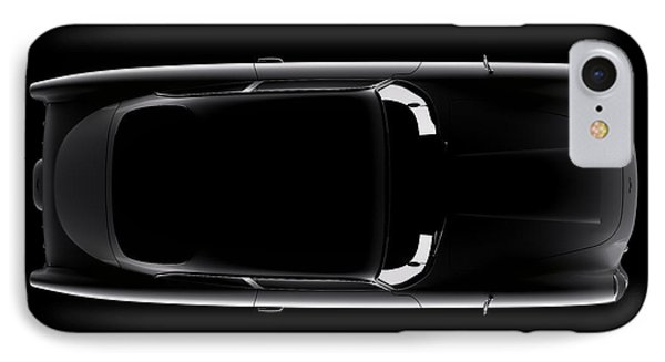 Aston Martin Db5 - Top View IPhone Case