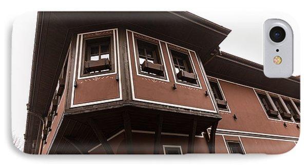 Asymmetrical Elegance - A Statement Oriel Window IPhone Case