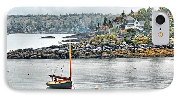 At Anchor - Maine IPhone Case