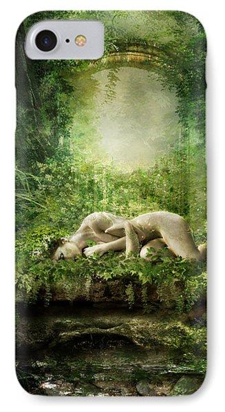 Elf iPhone 8 Case - At Sleep by Karen Koski