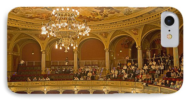 At The Budapest Opera IPhone Case