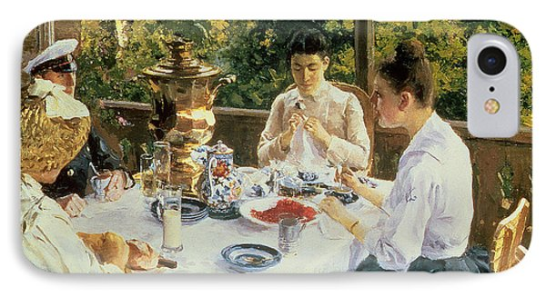 At The Tea-table IPhone Case