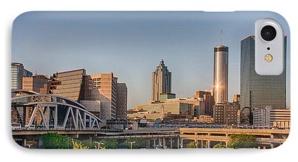 Atlanta Skyline Philips Arena IPhone Case