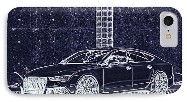 Audi Rs7 Vossen  IPhone Case