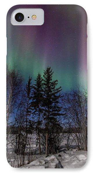 Aurora Curtains IPhone Case