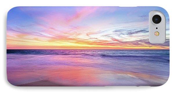 Aussie Sunset, Claytons Beach, Mindarie IPhone Case