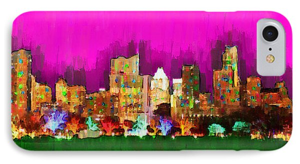 Austin Skyline 159 - Da IPhone Case