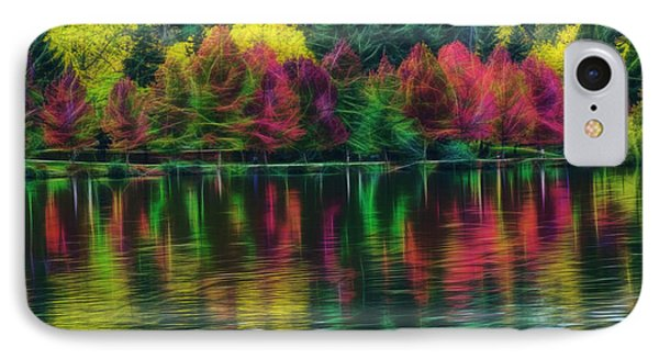 Autumn At Green Lake Seattle IPhone Case