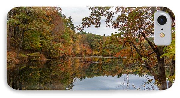 Autumn At Hillside Pond IPhone Case