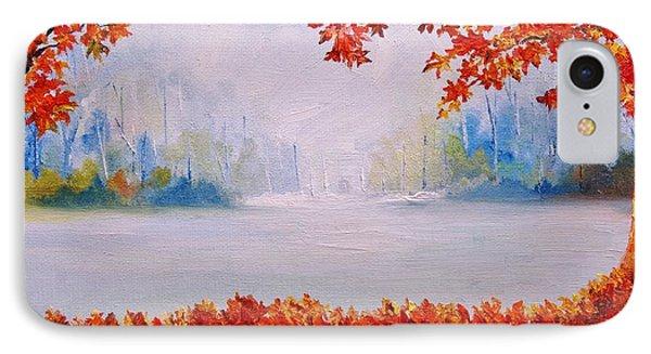 Autumn Blaze Maple Trees IPhone Case