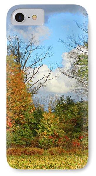 Autumn Breeze Nature Art IPhone Case