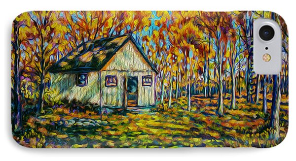 Autumn Cabin Trip IPhone Case