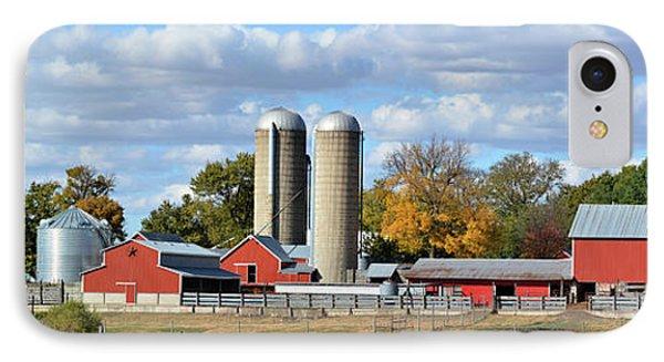 Autumn Elk Farm IPhone Case