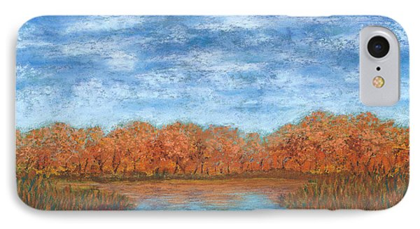 Autumn Field 01 IPhone Case