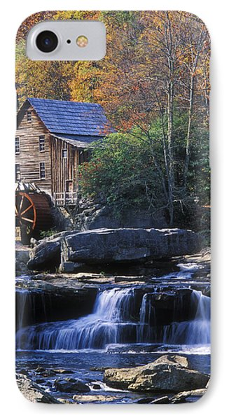 Autumn Grist Mill - Fs000141 IPhone Case